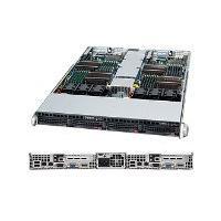 Supermicro SuperServer 6016TT-TF - Montable sur rack - pas de processeur - 0 Go