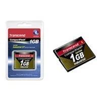 Transcend Ultra Speed Industrial - flash memory card - 1 GB - CompactFlash l PIO MODE (1GB)