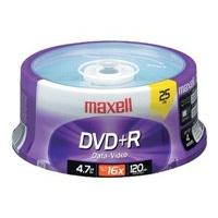 Maxell - DVD+R x 25 - 4.7 Go - support de stockage