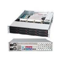 Supermicro SC826 E26-R1200LPB - rack-mountable - 2U - extended ATX  RM