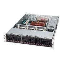 Supermicro SC216 E2-R900LPB - rack-mountable - 2U - extended ATX  RM