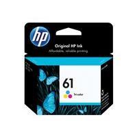 HP 61 - color (cyan, magenta, yellow) - original - ink cartridge