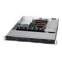 Supermicro SC815 TQ-600WB - rack-mountable - 1U - extended ATX  RM