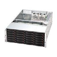 Supermicro SC846 - rack-mountable - 4U - extended ATX  RM