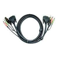 ATEN 2L-7D05U - video / USB / audio cable - 5 m