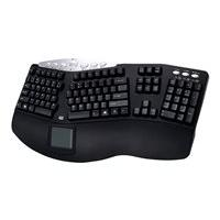 Adesso Tru-Form Pro PCK-308UB - keyboard - with touchpad - US