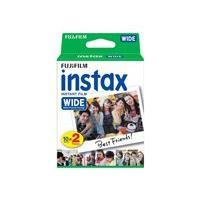 Fujifilm Instax Wide - pellicule couleur à développement instantané - ISO 800 - 10 - 4 cassettes