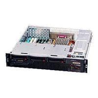 Supermicro SC825 MTQ-R700LPB - rack-mountable - 2U - extended ATX BTWR