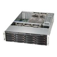 Supermicro SC836 BE16-R1K28B - rack-mountable - 3U - enhanced extended ATX  RM