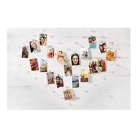 HP Sprocket Crystal Heart Display - galerie de porte-photo