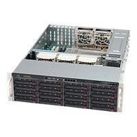 Supermicro SC836 E16-R1200B - rack-mountable - 3U - extended ATX  RM