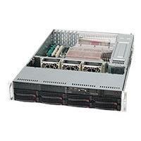 Supermicro SC825 TQ-R720LPB - rack-mountable - 2U - extended ATX  RM