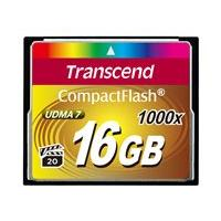 Transcend Ultimate - flash memory card - 16 GB - CompactFlash