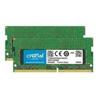 Crucial - DDR4 - 32 GB: 2 x 16 GB - SO-DIMM 260-pin - unbuffered
