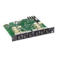 Black Box Pro Switching System Multi Switch Card, CAT6, 3-to-1 - expansion module