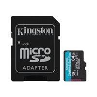 Kingston Canvas Go! Plus - flash memory card - 64 GB - microSDXC UHS-I