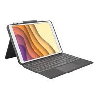 Logitech Combo Touch Keyboard Case for iPad Air (3rd generation) and iPad Pro 10.5-inch - clavier et étui - avec trackpad - graphite