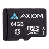 Axiom - flash memory card - 64 GB - microSDXC UHS-I U1