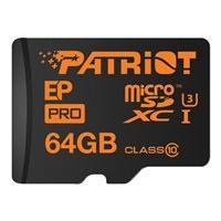 Patriot EP Pro - carte mémoire flash - 64 Go - microSDXC UHS-I