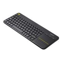 Logitech Wireless Touch Keyboard K400 Plus - keyboard - with touchpad - black