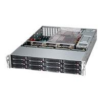 Supermicro SC826 BA-R1K28LPB - rack-mountable - 2U - enhanced extended ATX DRM