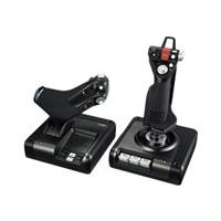 Logitech X52 Professional H.O.T.A.S. - joystick and throttle - wired