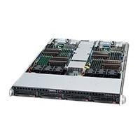 Supermicro SC808 BT-1K28B - rack-mountable - 1U - up to 2 blades  RM