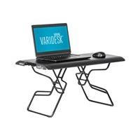 VARIDESK Laptop 30 - standing desk converter - rectangular - black