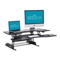 VARIDESK Standing Desk Solution Pro Plus 48 - standing desk converter - black