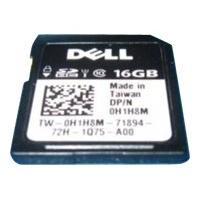 Dell - kit client - carte mémoire flash - 16 Go - SD
