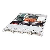 Supermicro SC813 TQ-500 - rack-mountable - 1U - extended ATX  RM