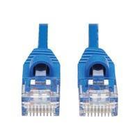 Tripp Lite Cat6a 10G Snagless Molded Slim UTP Ethernet Cable (RJ45 M/M), Blue, 25 ft. - cordon de raccordement - 7.62 m - bleu