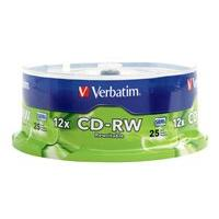 Verbatim - CD-RW x 25 - 700 MB - storage media