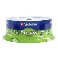 Verbatim - CD-RW x 25 - 700 Mo - support de stockage