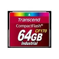 Transcend CF170 Industrial - flash memory card - 16 GB - CompactFlash