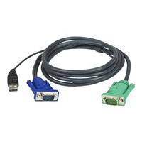 ATEN 2L-5202U - keyboard / video / mouse (KVM) cable - 1.8 m