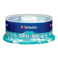 Verbatim - DVD-RW x 30 - 4.7 Go - support de stockage