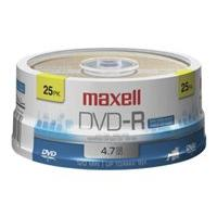Maxell - DVD-R x 25 - 4.7 Go - support de stockage