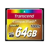Transcend Ultimate - flash memory card - 64 GB - CompactFlash