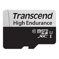 Transcend 350V - flash memory card - 64 GB - microSDXC UHS-I