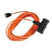 Black Box Indoor/Outdoor Utility Cord Heavy-Duty - power splitter - 30.4 m
