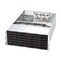 Supermicro SC846 E26-R1200B - rack-mountable - 4U - extended ATX  RM