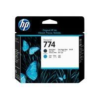 HP 774 - cyan, noir mat - tête d'impression