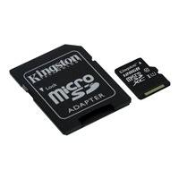 Kingston Canvas Select - flash memory card - 128 GB - microSDXC UHS-I (Canada)