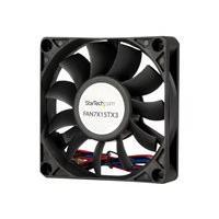 StarTech.com 70x15mm Replacement Ball Bearing Computer Case Fan w/ TX3 Connector - 3 pin case Fan - TX3 Fan - 70mm Fan (FAN7X15TX3) case fan