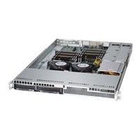 Supermicro SC813 LT-R500CB - rack-mountable - 1U - extended ATX  RM