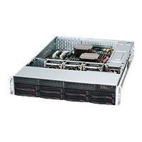 Supermicro SC825 TQ-R740LPB - rack-mountable - 2U - extended ATX  RM