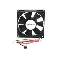 StarTech.com 80x25mm Dual Ball Bearing Computer Case Fan w/ TX3 Connector (FANBOX2) system fan kit