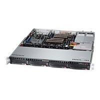 Supermicro SC813M FTQ-R400CB - rack-mountable - 1U - ATX  RM