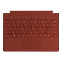 Microsoft Surface Pro Signature Type Cover - clavier - avec trackpad - US - rouge coquelicot